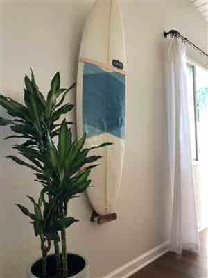 Amy Lawrence verified customer review of Vertical Mount Surfboard Wall Rack