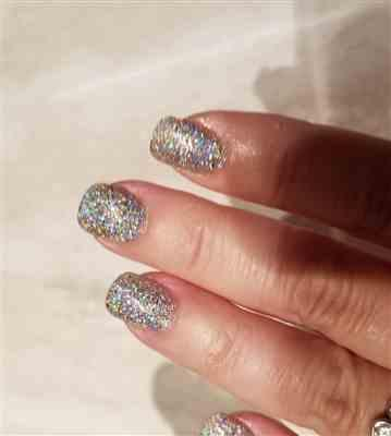 Gina Sklar verified customer review of Live Love Polish Sparkle On The Rocks (Bottoms Up Collection)