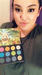 Breanna C. verified customer review of Jungle Roar Eyeshadow Palette