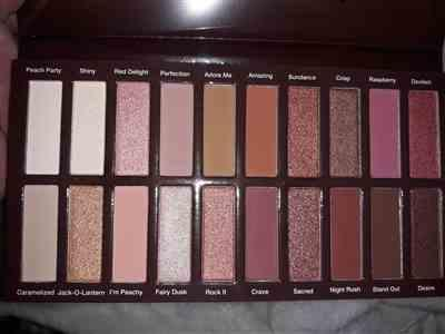 Coastal Scents Revealed Rouge Eyeshadow Palette Review