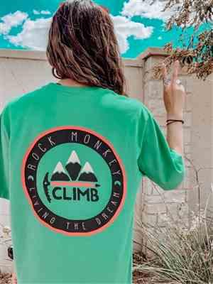 Ramsey W. verified customer review of Rock Monkey Outfitters Short Sleeve Climb Tee Everest Green