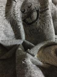 Lauren B. verified customer review of Ross the Bichon Frise - Grey French Terry Hooded Sweatshirt