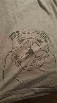 Inkopious MissyMoo the English Bulldog - Unisex Crewneck Review