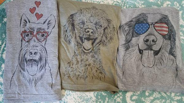 Inkopious Mystery Grab Bag - 3 Dog Shirts Review