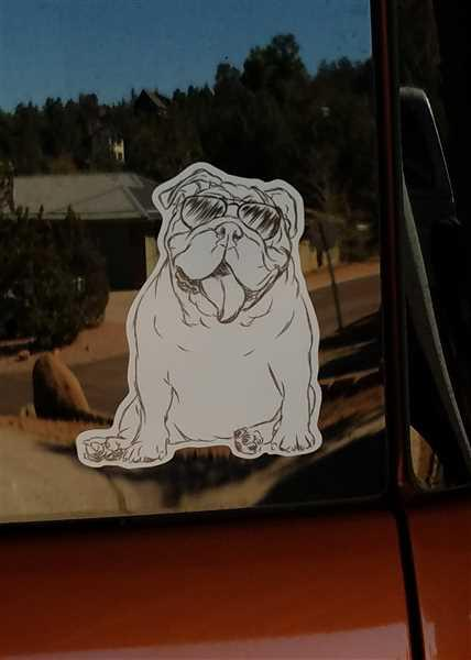 Inkopious Tank the English Bulldog - Decal Sticker Review