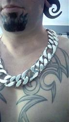 Shawn verified customer review of 30mm Figaro Link Necklace Chain