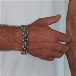 Derek Whyte verified customer review of Skull Bracelet KBB11