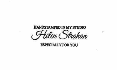 Helen Strahan verified customer review of 1 by 2-1/2 Custom Clear Stamp