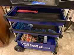 David S. verified customer review of Beta Blue Collapsible Portable Tool Cart (C27S)