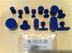 Michael Z. verified customer review of Keco 12 mm Ice Dimpled Round Hail Tab (5 Pack)
