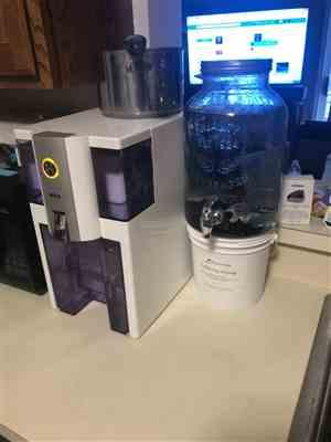 RKIN.com Zero Installation Purifier Reverse Osmosis Countertop Water Filter - Refurbished Review