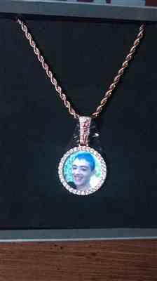 Gavin  verified customer review of ICED Custom Baller Picture Pendant 38mm