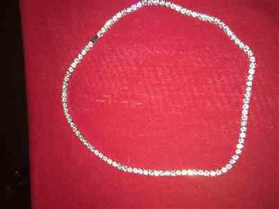 LFYSHOP 4mm ICED Tennis Chain in White Gold Review