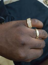 Chizimuzo  U. verified customer review of ICED Tiger Ring in Gold