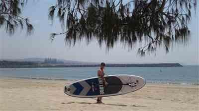 Geoff Palmer verified customer review of 10'6 Explore - Premium Inflatable Stand Up Paddle Board Package