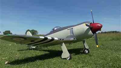 Martin F. verified customer review of FlightLine Hawker Sea Fury 1200mm (47) Wingspan - PNP