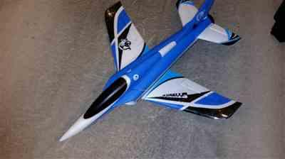 Motion RC Freewing Stinger Blue 64mm EDF Jet - PNP Review