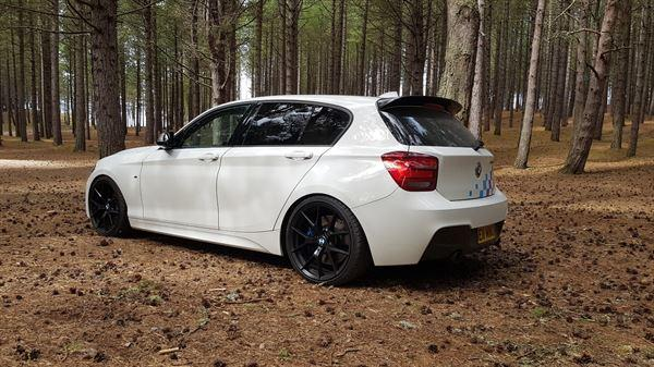 Euan M. verified customer review of MForce BMW 1 Series Hatchback F20 F21 Carbon Aero Rear Roof Spoiler