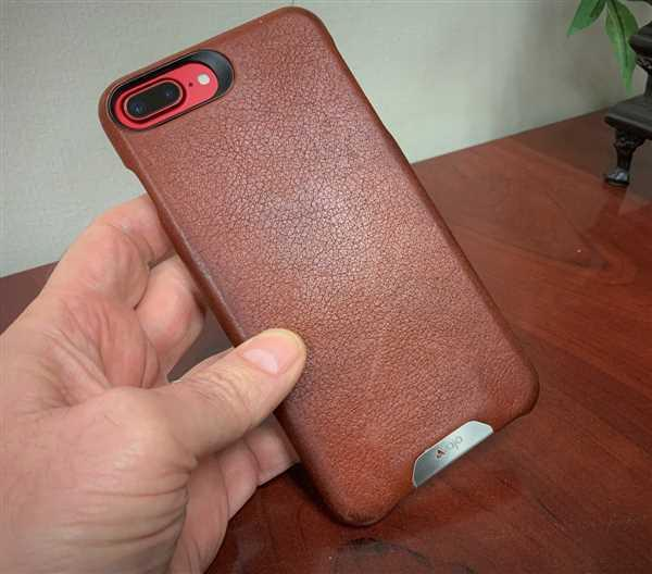 Vaja Grip Leather Case for iPhone 8 Plus Review