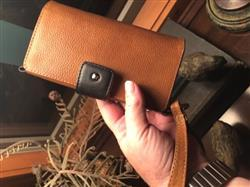 Lori J. verified customer review of Lola XO - iPhone 8 Plus Wallet leather wristlet case