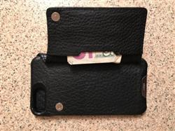 Ricky S. verified customer review of Niko Wallet-Leather Case for iPhone 8