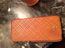 Angie K. verified customer review of iPhone 6/6s - Embossed Top Leather Case