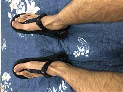 Anonymous verified customer review of Cairn 3D Adventure Sandals