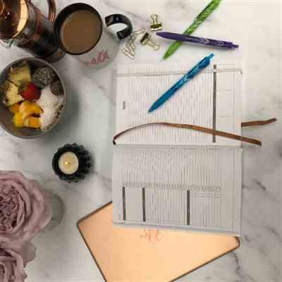 Anonymous verified customer review of 90-day Daily Planner  Goal Journal - The Key Planner | Undated Diary