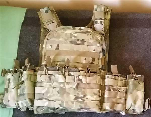 Andreas Rathosis verified customer review of Bulldog LMR Chest Rig