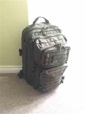 Anonymous verified customer review of Mil-Tec Large Laser MOLLE Assault Pack 36L