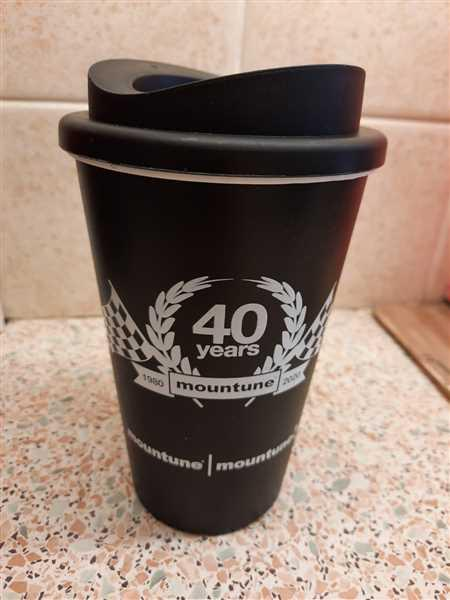 Mark Warren verified customer review of Anniversary Travel Mug - Limited Edition