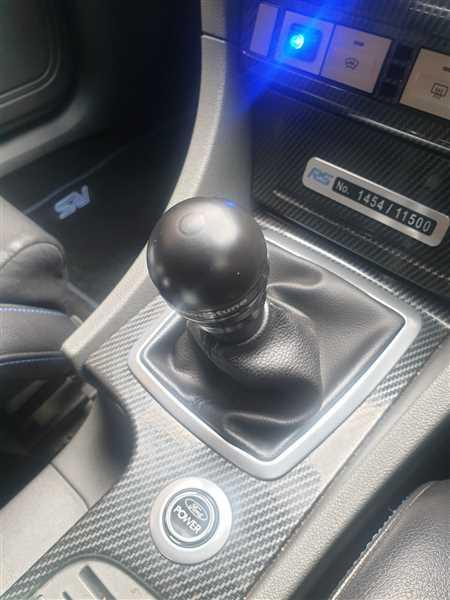 Anonymous verified customer review of Gearknob