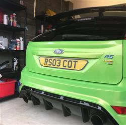 Scott D. verified customer review of Bespoke Number Plates