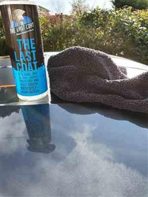 Mark Giddins verified customer review of The Last Coat - TLC2 Sample/Travel Sizes - 8 oz. Bottle of The Last Coat