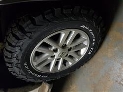 Johan P. verified customer review of 265/65R17 BF GOODRICH ALL TERRAIN T/A KO2 (120/117S)