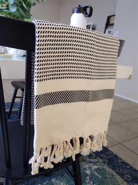 Samantha Mathew verified customer review of Pixel Turkish Hand / Kitchen Towel