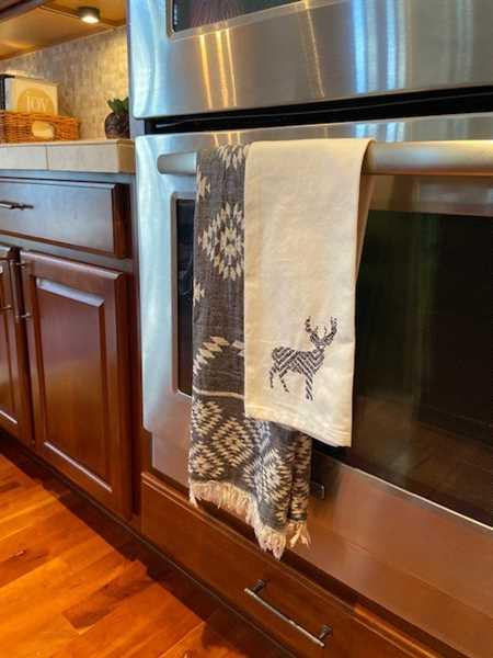 Wendy Crist verified customer review of Aztec Turkish Hand / Kitchen Towel