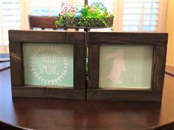 Monica M. verified customer review of Easter Mini Sign Stencils (6 Pack) + BONUS