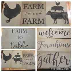 Tracy JP. verified customer review of Farm Animal Mini Stencils (4 Pack)
