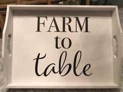 Sonia Gomez verified customer review of Farmhouse Sign Stencil (4 Pack)