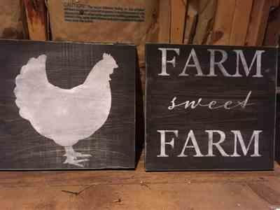 Nancy mm. verified customer review of Farmhouse Sign Stencil (4 Pack)