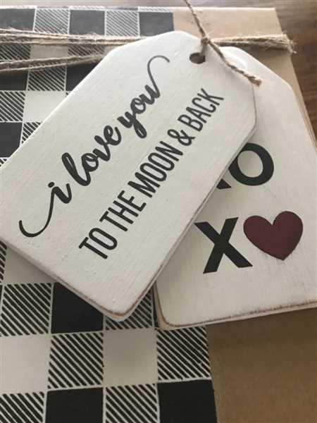 Katie Woodruff verified customer review of Be My Valentine Mini Tag Stencil Set (3 Pack)