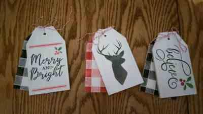 Penny Lane verified customer review of Deer Mini Tag Stencil Set (3 Pack)