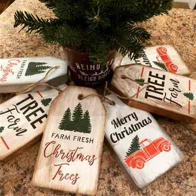 Essential Stencil Tree Farm Mini Tag Stencil Set (3 Pack) Review