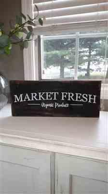 Kathy Fennell verified customer review of Market Fresh Sign Stencil
