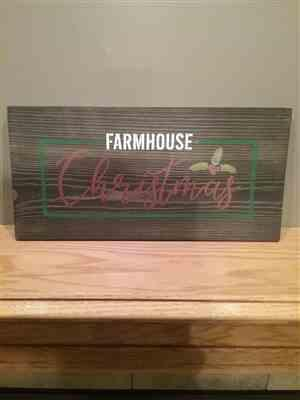 William Gabbard verified customer review of Farmhouse Christmas Stencil Set (3 Pack)