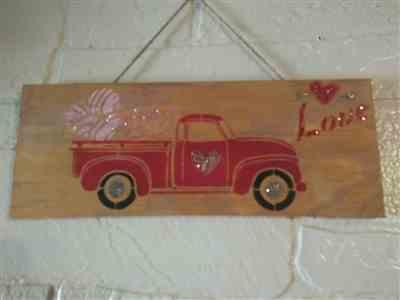 Shelly Sweeney verified customer review of Christmas Vintage Truck Stencil Set (2 Pack)