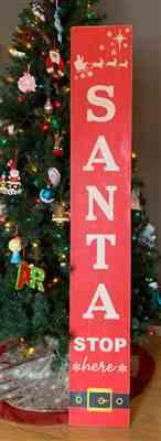 Pam Stogsdill verified customer review of Santa Stop Here Christmas Stencil