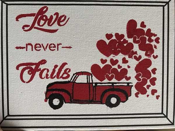 Essential Stencil Valentine's Truck Mini Tag Stencil Set (3 Pack) Review