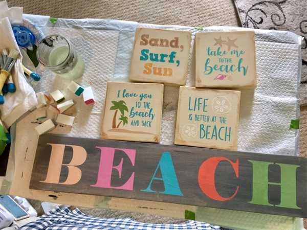 Essential Stencil Beach Mini Stencil Set (6 Pack) Review